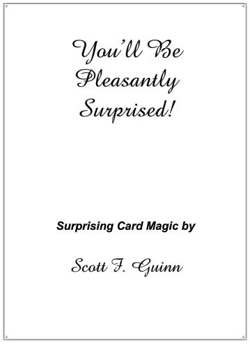 Scott F Guinn - You'll Be Pleasantly Surprised!