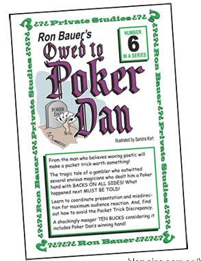 Ron Bauer - 06 Owed to Poker Dan - Envelope