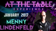 At The Table Live Lecture Menny Lindenfeld January 4th 2017