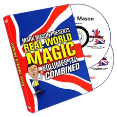 Real World Magic by Mark Mason (2 Vols)