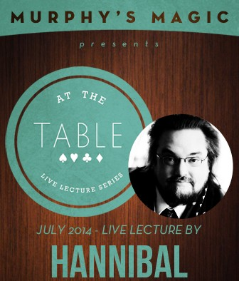 At the Table Live Lecture - Chris Hannibal