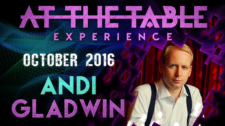 At The Table Live Lecture 2nd Andi Gladwin October 5th