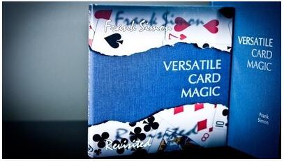 Frank Simon - Versatile Card Magic Book