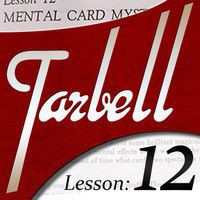 Dan Harlan - tarbell 12 Mental Card Mysteries