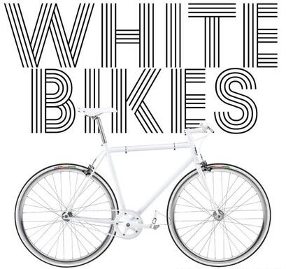 Paul Richards - White Bikes