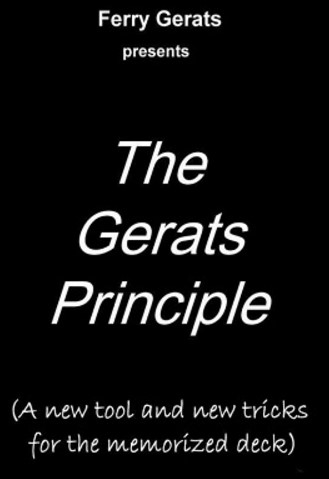Ferry Gerats - The Gerats Principle