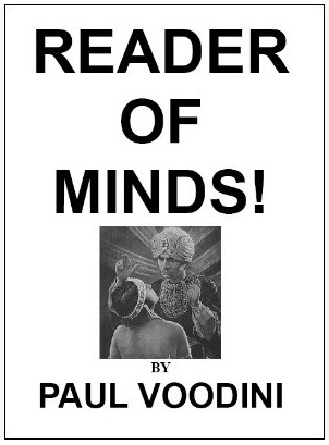 Paul Voodini - Reader of Minds