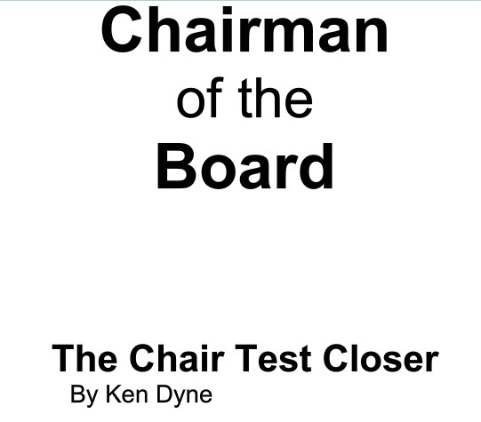 Ken Dyne - Chairman of The Board PDF