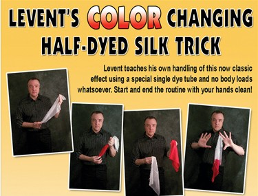 Levent - Color Changing Half-Dyed Silk