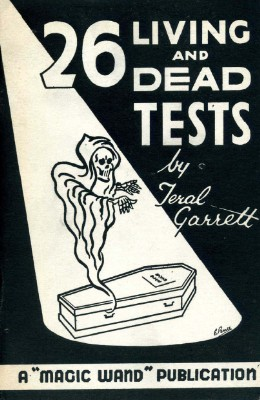 26 Living and Dead Tests by Teral Garrett PDF