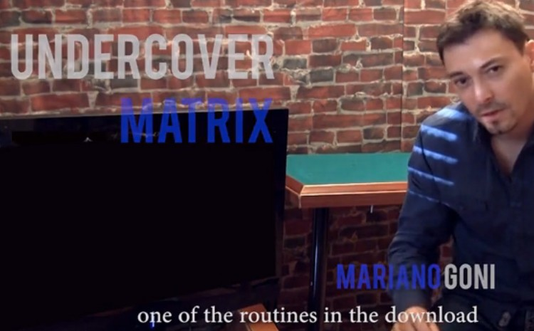 Undercover Matrix by Mariano Goni