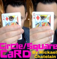 Square Circle Card by Mickael Chatelain presented by Rick Lax