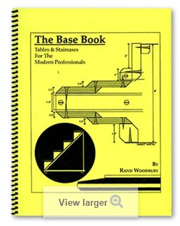 The Base Book (Tables and Staircases for the Modern Professionals) by Rand Woodbury