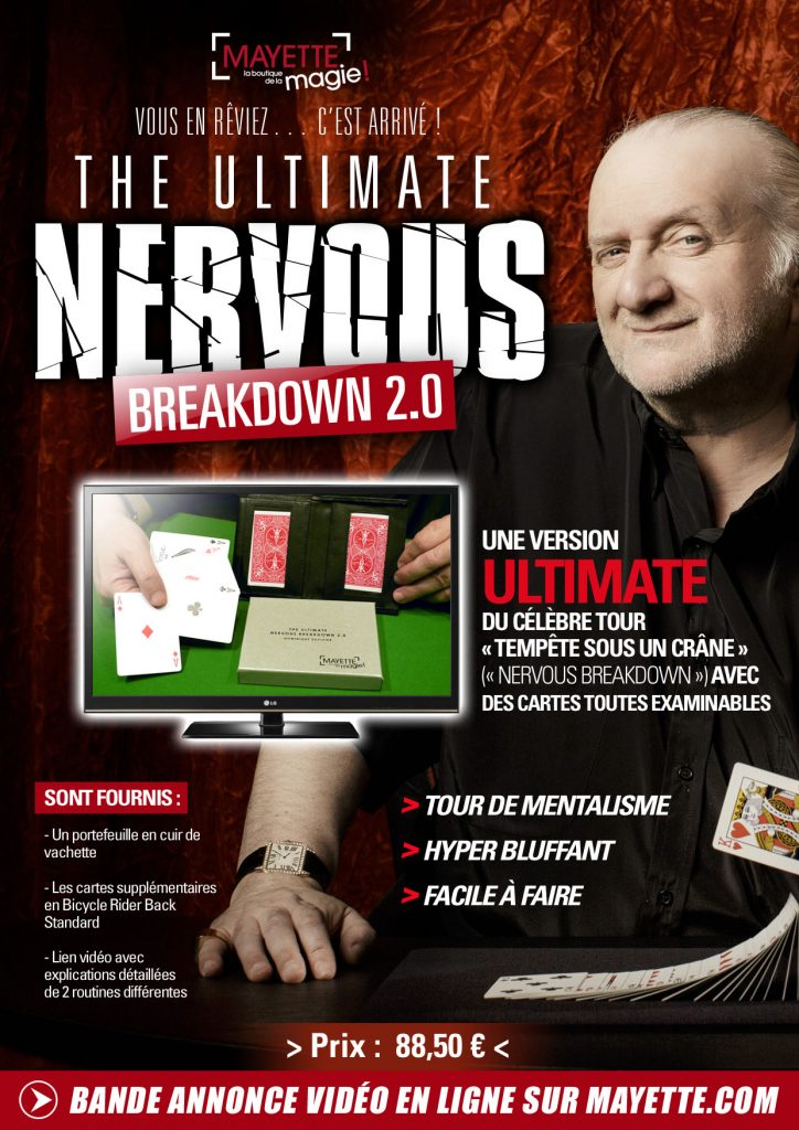 Ultimate Nervous Breakdown 2.0 by Dominique Duvivier - French Language