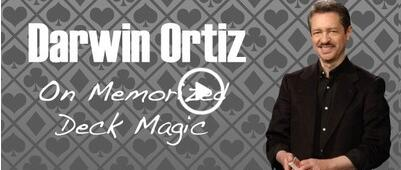 Darwin Ortiz - On the Memorized Deck