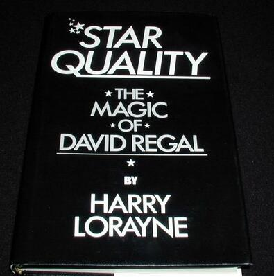 Harry Lorayne - Star Quality The Magic of David Regal