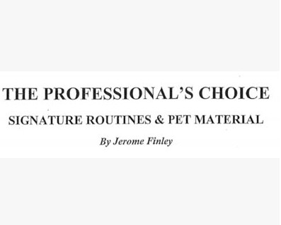 Jerome Finley - The Professional's Choice I