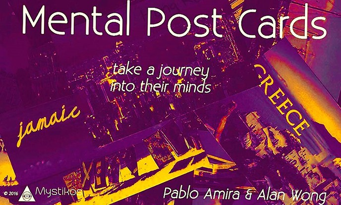 Mental Post Cards by Mystikos Magic & Alan Wong (Video Download)