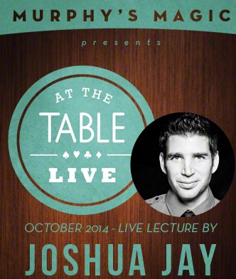 At the Table Live Lecture - Joshua Jay
