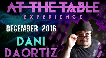 At The Table Live Lecture starring Dani DaOrtiz 2 December 21st 2016 video (Download)