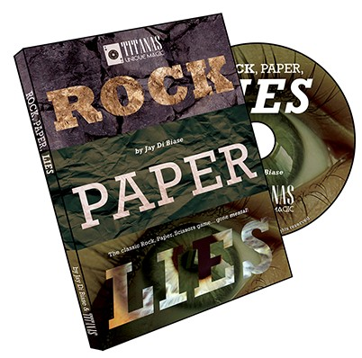 Jay Di Biase & Titanas Magic - Rock, Paper,Lies
