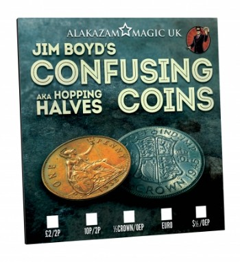 Confusing Coins by Jim Boyd and Alakazam Magic
