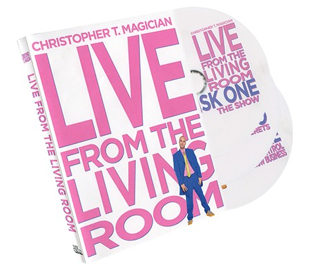Live From The Living Room 3-DVD Set starring