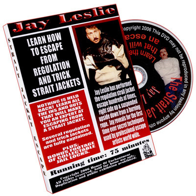 Jay Leslie - Straight Jacket Escape