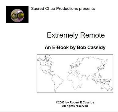 Bob Cassidy - Extremely Remote