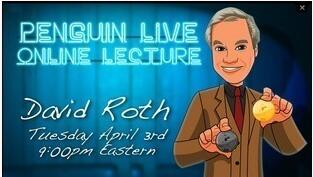 David Roth LIVE (Penguin LIVE)