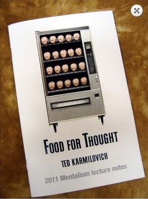 Ted Karmilovich - Food For Thought PDF