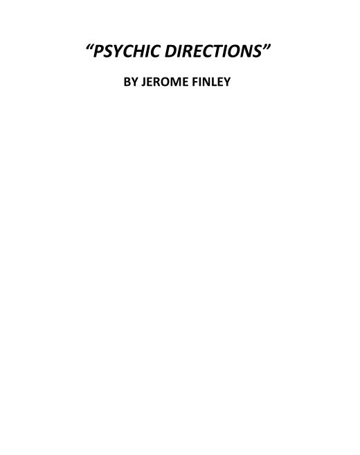 Jerome Finley - Psychic Directions PDF