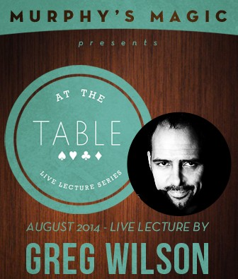 At the Table Live Lecture - Greg Wilson