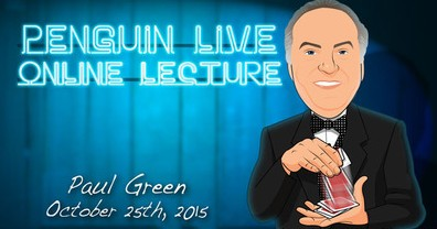 Penguin Live Online Lecture - Paul Green