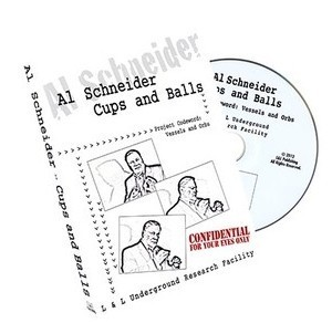 Al Schneider Cups and Balls by L&L
